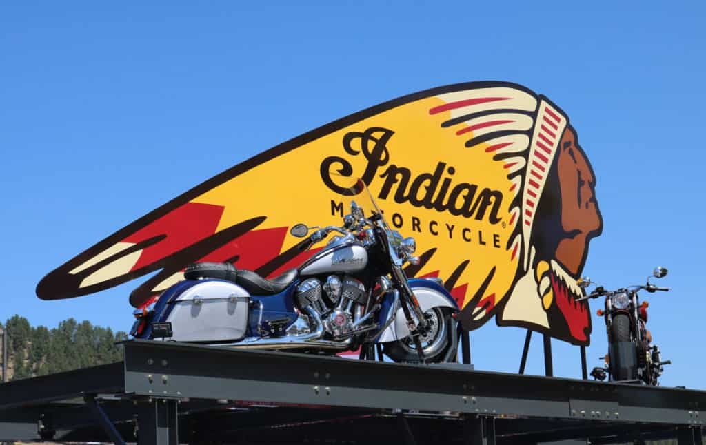 Indian Motorcycles at Sturgis