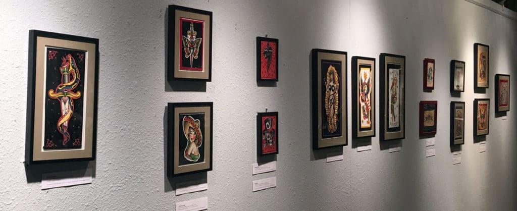 Richie Pan Art at Skin & Bones