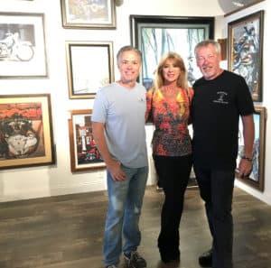 Scott Jacobs, Beti Kristof,-A.D. Cook at Deadwood, SD