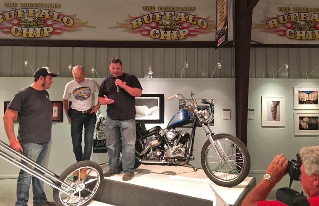 Motorcycle Artist A.D. Cook at Skin & Bones 2016
