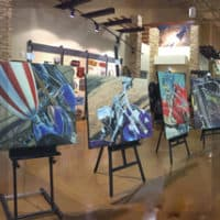 A.D. Cook Art at Red Rock Harley-Davidson, Las Vegas, NV 2016