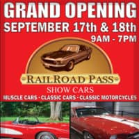 RailRoad Pass Show Cars Grand Opening