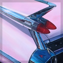 Pink Cadillac by Beti Kristof, artist