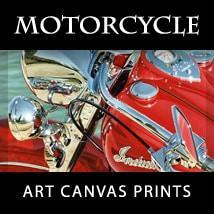 Motorcycle Art Canvas Prints