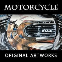 Motorcycle Original Artworks