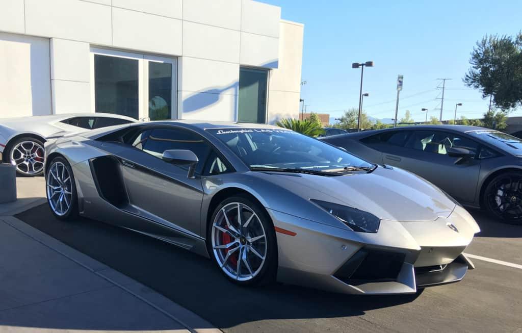 Lamborghini LP-700 at Lamborghini Las Vegas