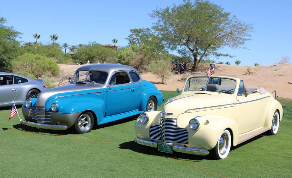 American Classics at Red Rock Concours d'Elegance 2016, Las Vegas, NV