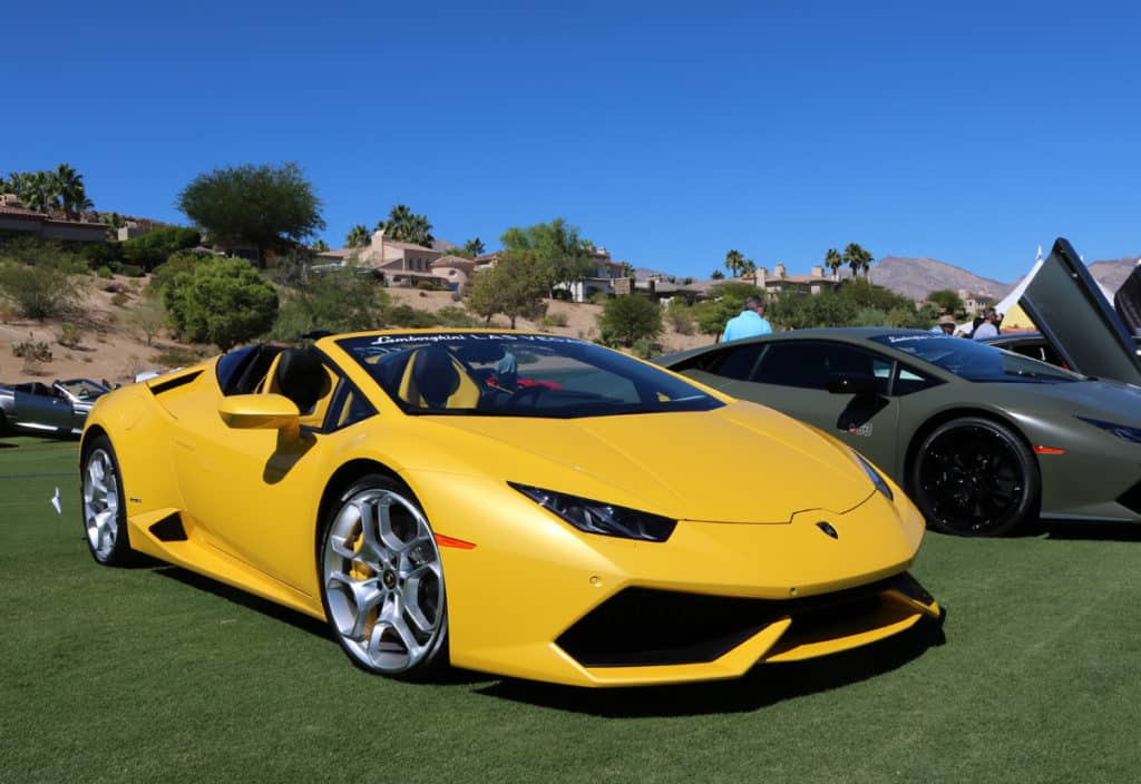 Lamborghini Spyder at Red Rock Concours dElegance 2016