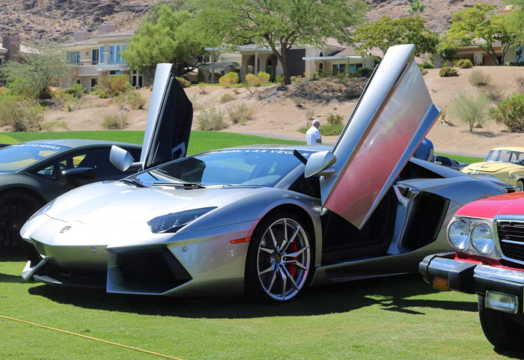 Lamborghini Aventador at Red Rock Country Club, Las Vegas, NV