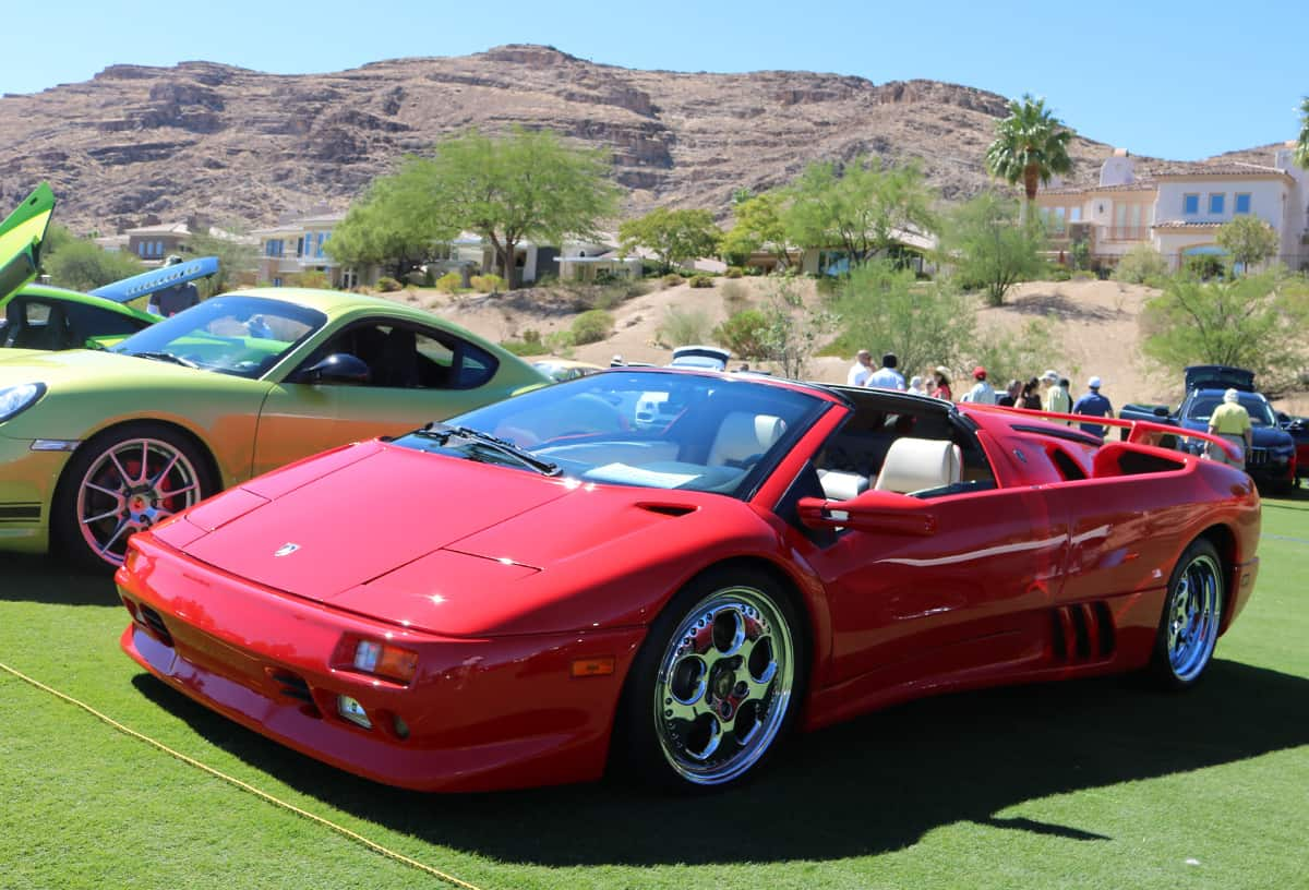 Red Rock Concours D Elegance At Red Rock Country Club Las