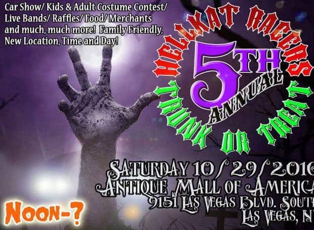 Trunk or Treat 2016, Las Vegas.
