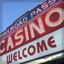 Railroad Pass Casino - Welcome