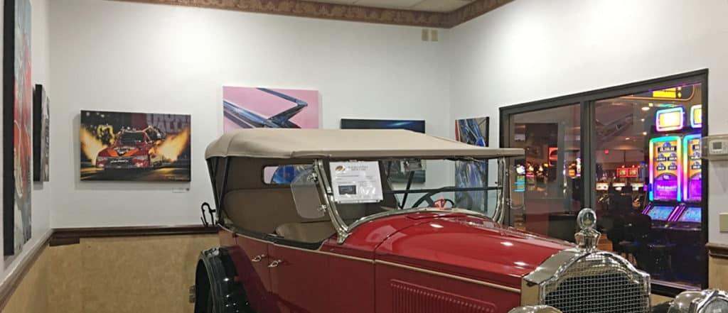 Art and Phantom at RailRoad Pass Show Cars