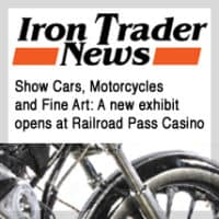 Iron Trader News featuring motorcycle artist A.D. Cook