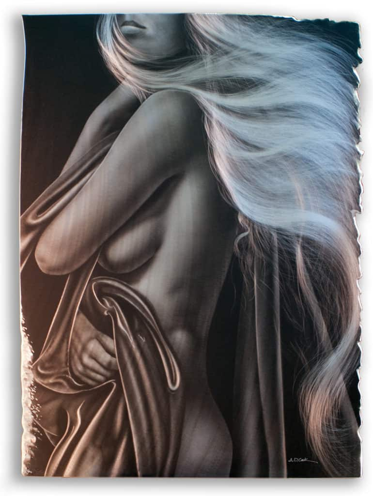 ANTHEM figurative art painting by A.D. Cook