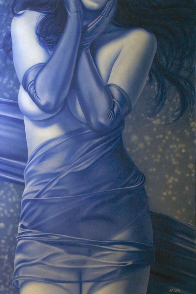 ENCORE figurative painting by A.D. Cook