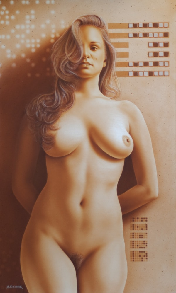 TRUTH art nude of Liz Ashley by A.D. Cook