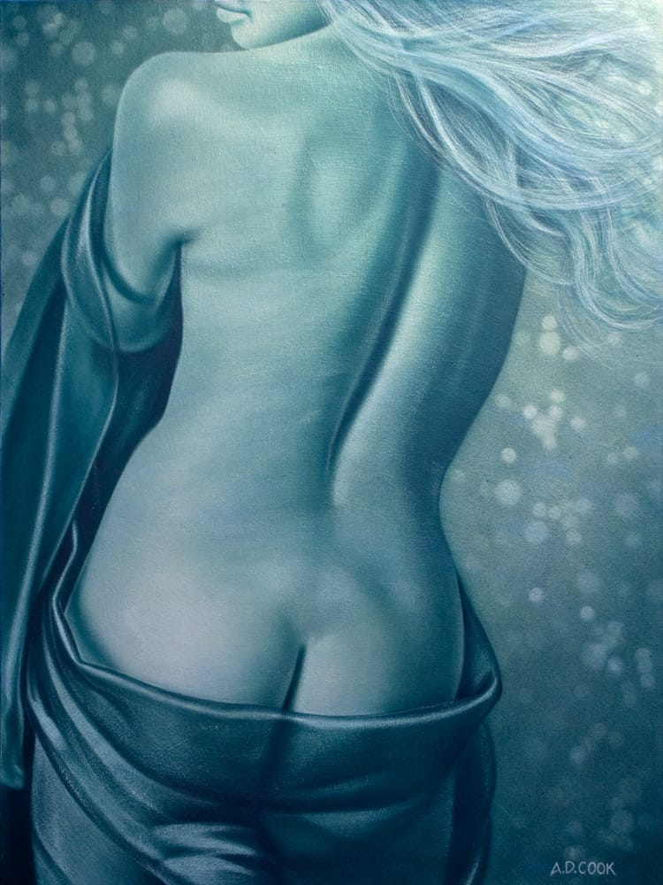 VALHALLA art nude by A.D. Cook