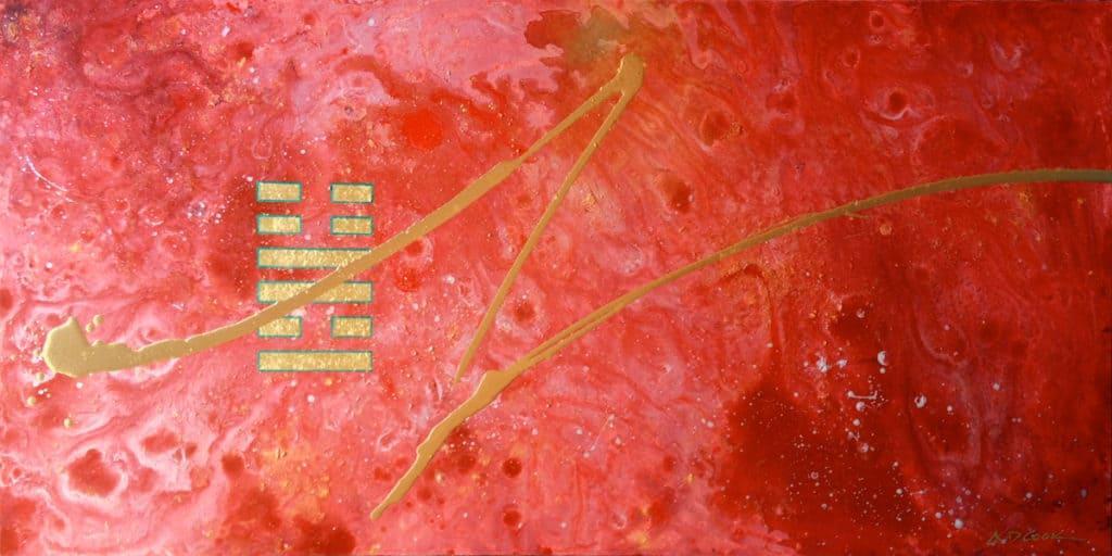 ABUNDANCE abstract artwork by A.D. Cook