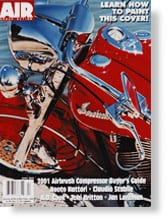 Airbrush Action magazine featuring Indian Summer, April 2001