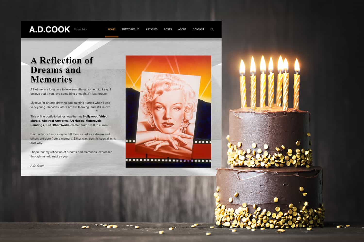 ADCook.com celebrates 24 years online